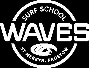 Waves Surf School Cornwall - Logo