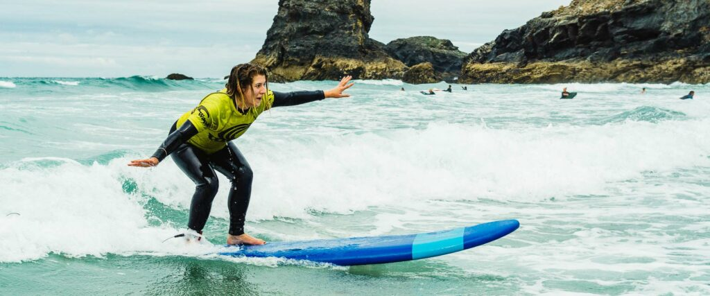 Waves Surf School Cornwall | Corporate Surf Experience