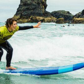 Waves Surf School Cornwall | Corporate Surf Experience