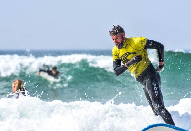 Waves Surf School, Cornwall - Surf Lessons Weekend Surf Package