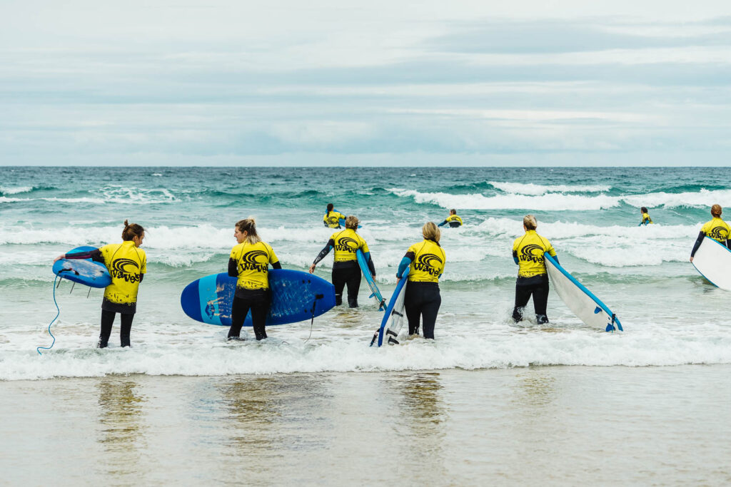 Waves Surf School Cornwall | Stag and Hen Do Surf Lessons