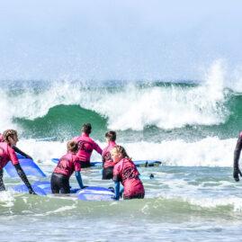 Waves Surf School Cornwall | School Group Surf Lessons